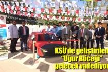 KSÜ'DE GELİŞTİRİLEN 'UĞUR BÖCEĞİ' GELECEK VADEDİYOR
