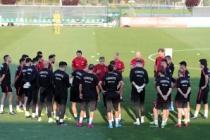 A Milli Takım, Andorra için hazırlanıyor