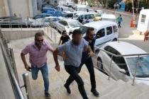 Terörle mücadele gazisini darp olayında 2 zanlı adliyeye sevk edildi