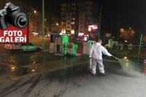 Büyükşehir Belediyesi'nden dezenfekte atağı