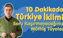 10 Dakikada Türkiye İklimi