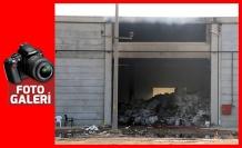 Fabrikada dünden bu yana süren yangın söndürüldü