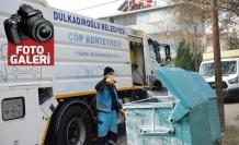 Dulkadiroğlu'ndan dezenfekte çalışmaları