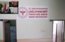 43'üncü 112 acil sağlık merkezi, Çağlayancerit'te…