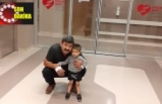 4 yaşındaki oğluna böbreğini verdi