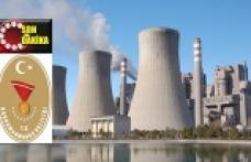 Termik santralde üretim durduruldu
