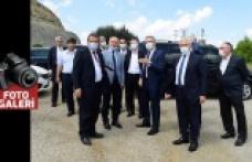 Güngör Andırın'da yatırım alanlarını gezdi
