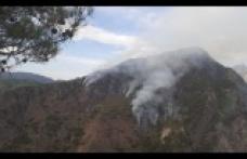 Andırın'daki örtü yangını söndürüldü