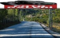 Çağlayancerit'te 40 km yol çalışması yapıldı