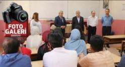 KMTSO Başkanı Zabun, tekstil mühendislerinin ilk dersine katıldı