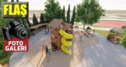Büyükşehir'der Pazarcık'a yeni bir park