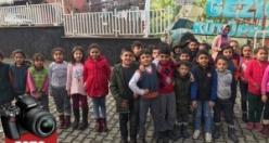 Gezici Halk Kütüphanesi 26 okula ulaştı