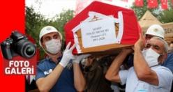 Şehit Polis Gül dualarla uğurlandı