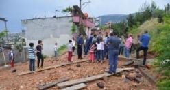 Kahramanmaraş'ta su deposu taştı, evleri su bastı