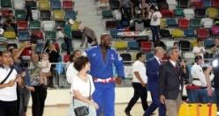 Dünya şampiyonu Fransız judocu Riner'e Kilis'te