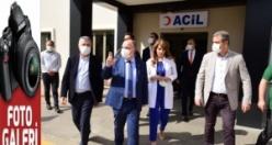 Vali Coşkun'dan Sular Akademi Hastanesi'ne ziyaret