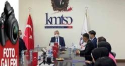 Kırgız Alım Heyeti, KMTSO'da iş dünyası ile buluştu
