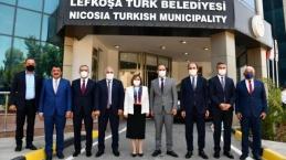 Güngör, Türkiye Heyetiyle Kıbrıs'ta