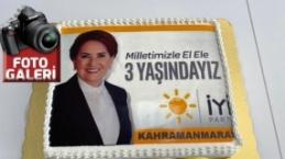 İYİ Parti, kuruluş yıldönümünü, Kahramanmaraş'ta da kutluyor.