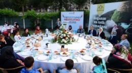 Büyükşehir'den yetimler için 'kardeşlik iftarı'