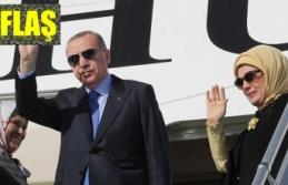 Cumhurbaşkanı Erdoğan ABD'ye gitti