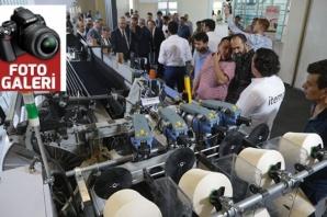 5. Tekstil Makineleri Fuarı, açıldı