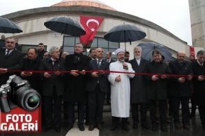 Üniversitede cami açılışı yapıldı