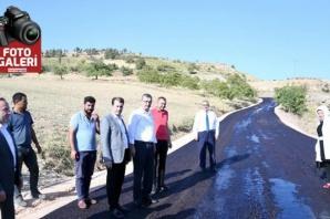 Pazarcık'ta Grup Yolları asfaltlanıyor