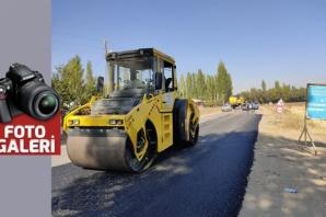 7 mahalleye ulaşım sağlayan yol asfaltlanıyor