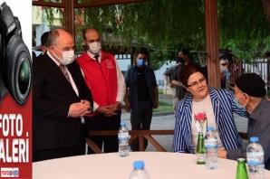 Aile Bakanı Derya Yanık'tan Çocukevi, Huzurevi ve Aile Ziyaretleri