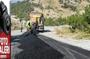 Karamanlı'nın ulaşımı kolaylaşıyor