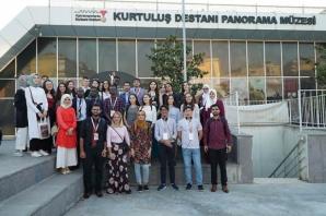 Yabancı öğrenciler, Kahramanmaraş'a hayran kaldı!