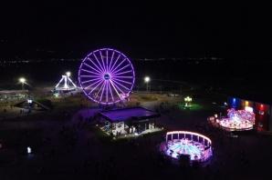 Onikişubat'ta yine bir ilk: Blueland Lunapark&Aquapark açıldı