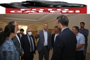 Güvenç, İstiklal Üniversitesi Türkoğlu Yerleşkesini ziyaret etti