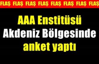 AKDENİZ'DE YÜZDE 55.2 'EVET'