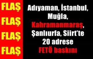 FETÖ'DEN 20 KİŞİ GÖZALTINDA!