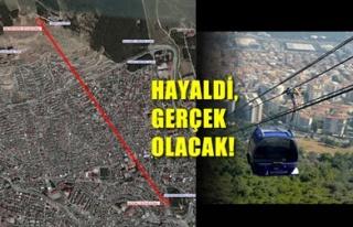 TELEFERİK KAMULAŞTIRMASI BAŞLADI