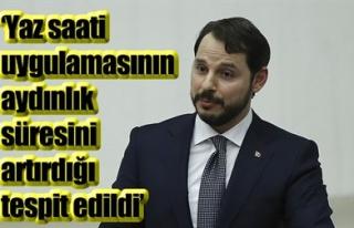 'YAZ SAATİ UYGULAMASININ AYDINLIK SÜRESİNİ...
