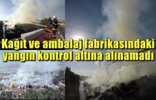 KAĞIT VE AMBALAJ FABRİKASINDAKİ YANGIN KONTROL...
