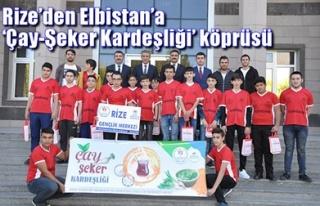 RİZE'DEN ELBİSTAN'A 'ÇAY-ŞEKER KARDEŞLİĞİ'...