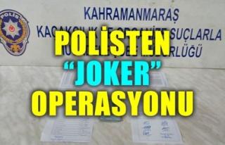 POLİSTEN 'JOKER' OPERASYONU