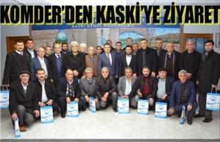 KOMDER'DEN KASKİ'YE ZİYARET