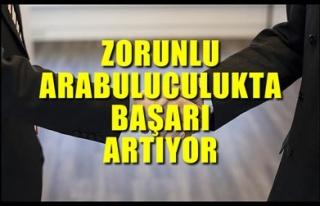 ZORUNLU ARABULUCULUKTA BAŞARI ARTIYOR
