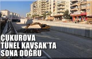 ÇUKUROVA TÜNEL KAVŞAK'TA SONA DOĞRU