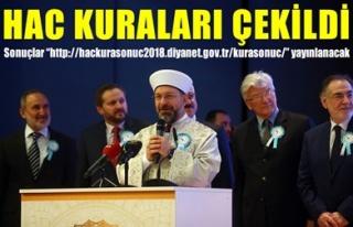 HAC KURALARI ÇEKİLDİ