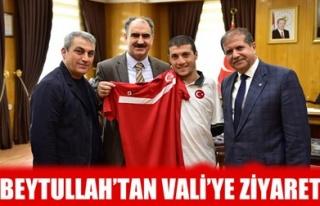 BEYTULLAH'TAN VALİ'YE ZİYARET