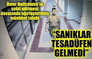 'SANIKLAR TESADÜFEN GELMEDİ'