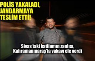 POLİS YAKALADI, JANDARMAYA TESLİM ETTİ!