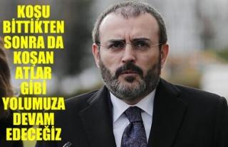 KOŞU BİTTİKTEN SONRA DA KOŞAN ATLAR GİBİ YOLUMUZA...