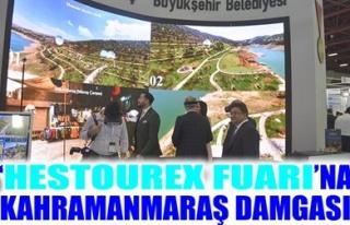 'HESTOUREX FUARI'NA KAHRAMANMARAŞ DAMGASI